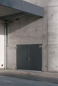 T90-Brandschutztür für die Aussenanwendung